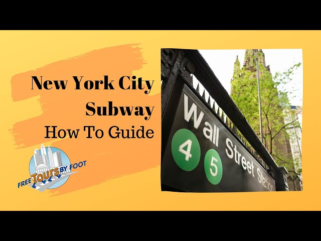 8 Top Tips On Navigating The New York City Subway Free Tours By Foot