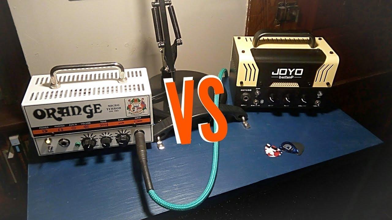 Orange Micro Terror vs Joyo Bantamp Meteor
