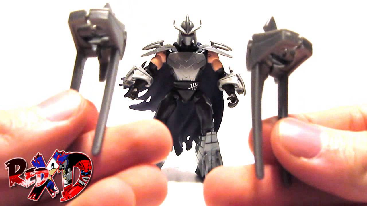 Playmates Toys - TMNT (Custom) - Shredder 2.5 - YouTube