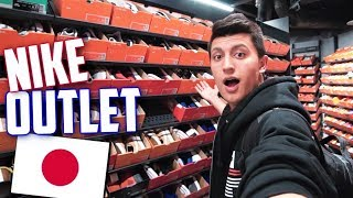 BEST $100 SNEAKERS at NIKE OUTLET JAPAN? (Mitsui Outlet Park)