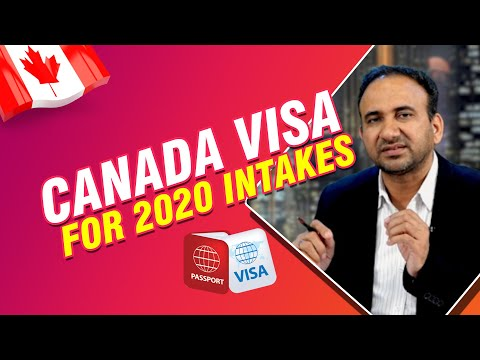 Canada Visa Process For 2020 Intakes   By Mr. Pardeep Balyan