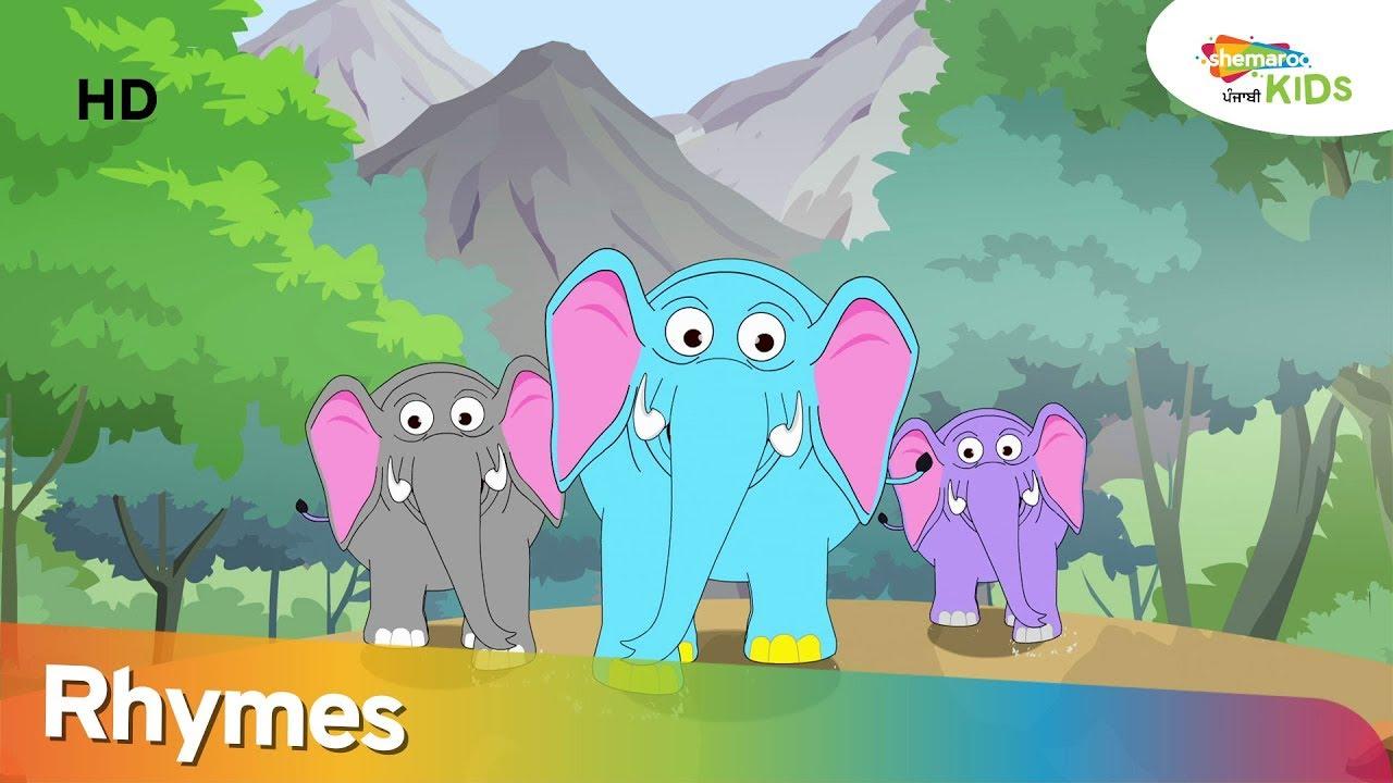 Download Punjabi Nursery Rhyme : Haathi Aaya    Latest Songs & Rhymes For Kids   Shemaroo Kids Punjabi