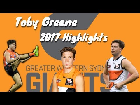 Toby Greene 2017 Highlights