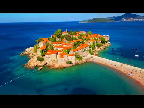 Montenegro from Air