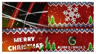 Knitted Christmas Sweater Logo Reveal