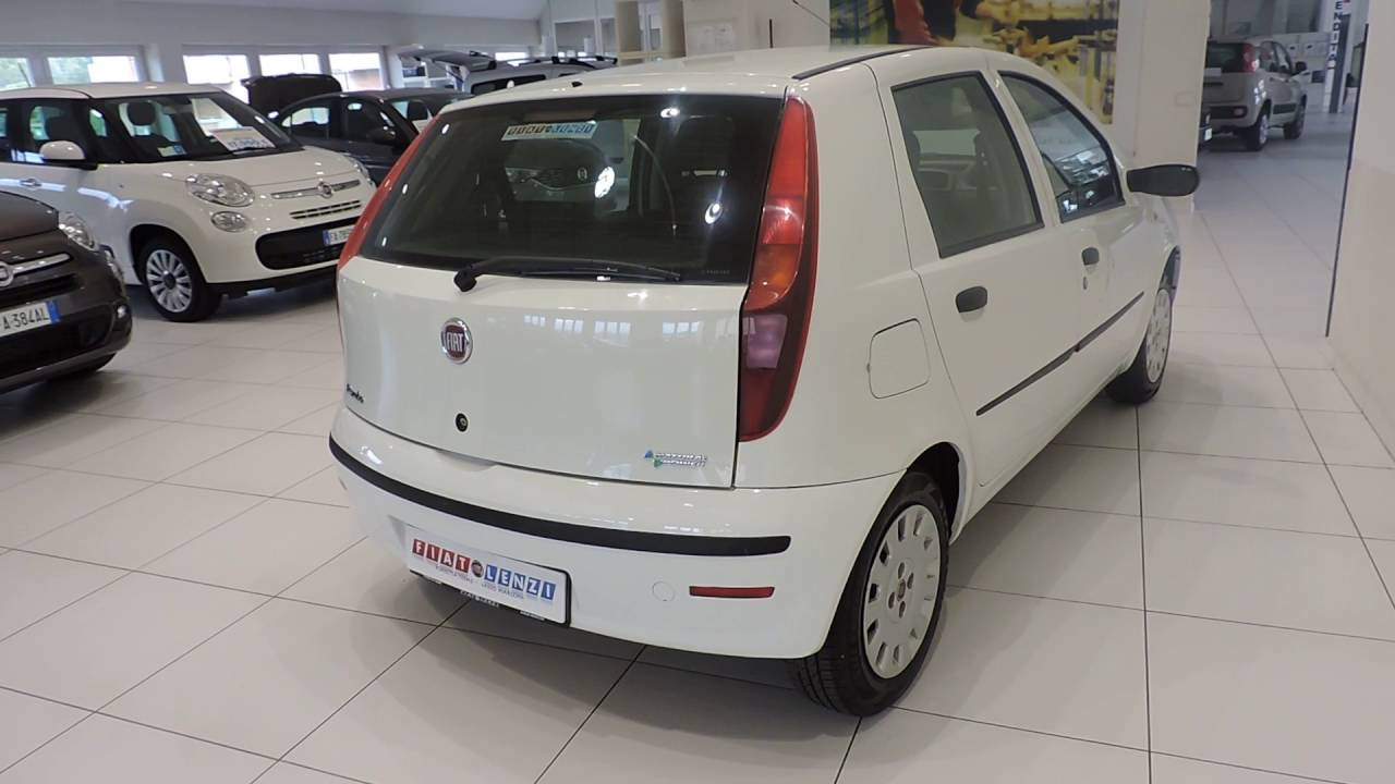 FIAT LENZI - FIAT PUNTO CLASSIC 1.2 5P NATURAL POWER ACTIVE METANO