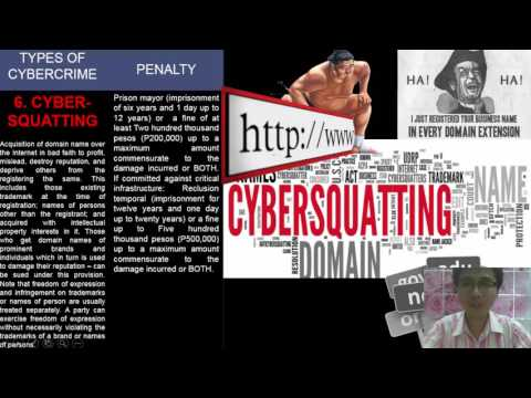 Cybercrime Prevention Act of 2012 RA 10175