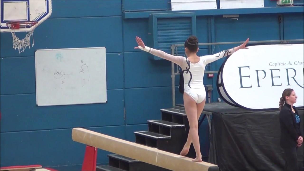 Video De Gym Dans Le Jardin #8: Championnat De Zone Est Gym 2015 - Célia 10 Ans