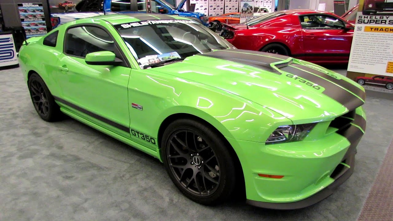 2014 Ford Mustang Shelby Gt350 Exterior And Interior