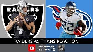 Raiders vs. Titans LIVE Post Game Reaction To Oakland's 42-21 Loss | NFL Week 14