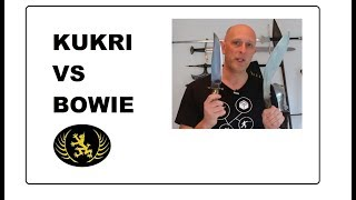 Kukri vs Bowie - Two Iconic Knives Compared