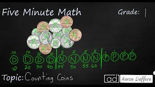 1st Grade Math Counting Coins