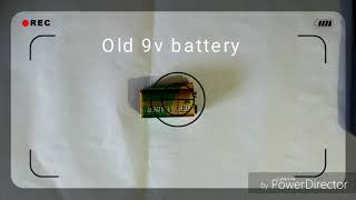 How to make a 9v battery connector with old batteries
