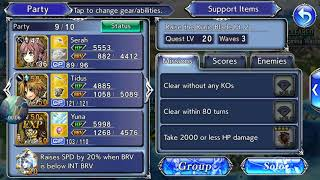 [DFFOO Event] Raise the Runic Blade Pt. 2