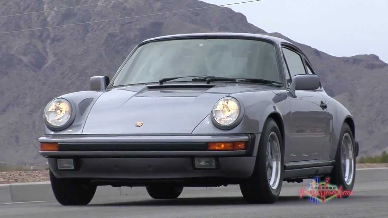 1988 Porsche 911 >> 1988 Porsche 911 Carrera Commemorative Edition Youtube