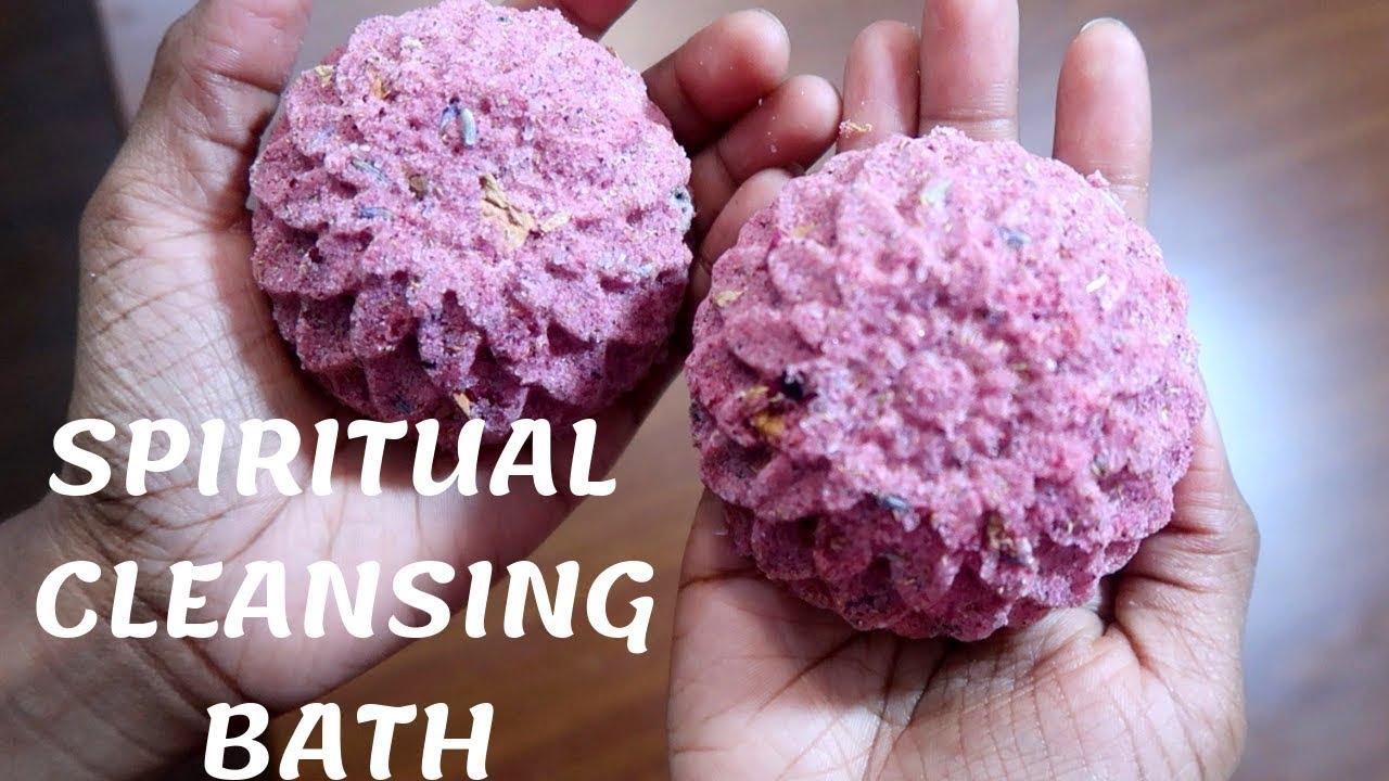 SPIRITUAL CLEANSING BATH BOMBS | SELF LOVE | HEAL THYSELF