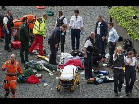 Gunshots outside UK Parliament - Live Report Part 1
