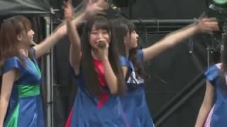 アイドル横丁夏まつり!!2018 1日目 1番地ステージ #モノガ #monogatari.