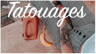 ❥ Mes TATTOOS |  à Priori, Signification & Entretien.