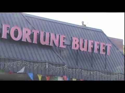 Fortune Buffet Parking Lot, Livonia, Michigan, July 4, 2017