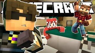 Minecraft ROOM MATES Hide N Seek | GET JUKED! (Roleplay MiniGame)