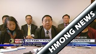 3 HMONG NEW: Lao Family Foundation Board of Trustees holds press conference after court decision.