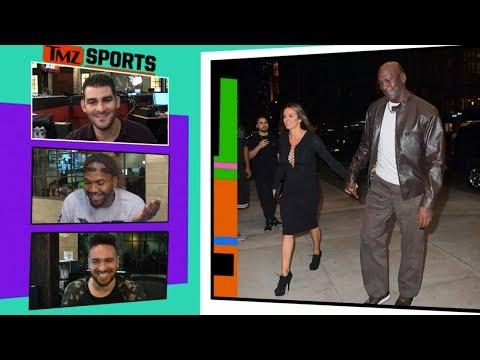 Michael Jordan Takes Hot Wife to Dinner In Rare $400 Air Jordans | TMZ Sports