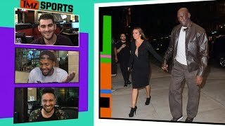 Michael Jordan Takes Hot Wife to Dinner In Rare $400 Air Jordans | TMZ Sports