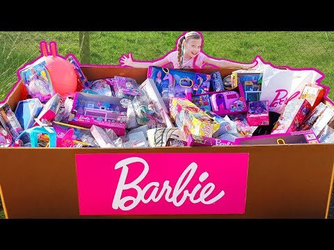 Pallet Box Full Of Barbie Dolls And Barbies Toys