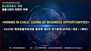 2020 해외광물자원개발 협의회 정기총회 발표영상 : …