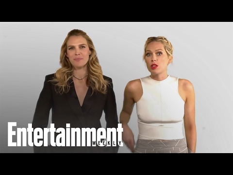 The Foster Sisters Pitch 'Barely Famous' To The Kardashians | Entertainment Weekly