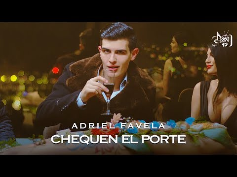 Adriel Favela  Chequen El Porte  (Video Oficial)