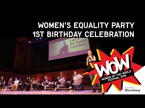 Women's Equality Party 1st Birthday celebration - WOW 2016