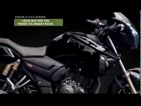 all new tvs apache 160 180 180 abs scarily fast review 2012