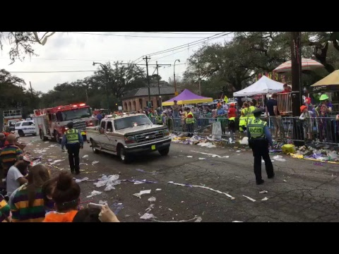ParadeCam 2018: Krewes of Okeanos, Mid-City and Thoth
