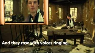 Les Miserables 2012- Empty Chairs at Empty Tables LYRICS and VIDEO - Eddie Redmayne
