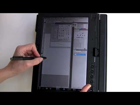 Lenovo ThinkPad X201t Tablet PC Video Review