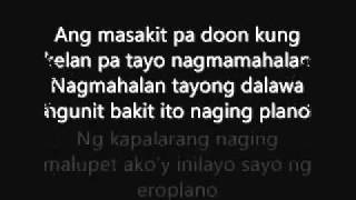 Repeat youtube video Alaala na lang by:hambog ng sagpro w/lyrics