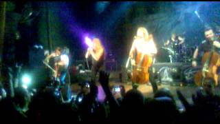 apocalyptica aergentina 2012 i don`t care & enter sandman