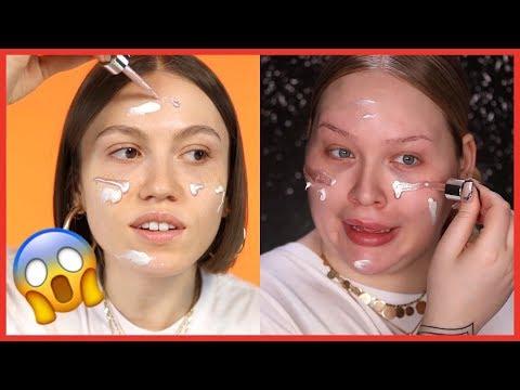 NikkieTutorials'ın Makyajını Yapmaya Çalıştım! | Following a NikkieTutorials Makeup Tutorial