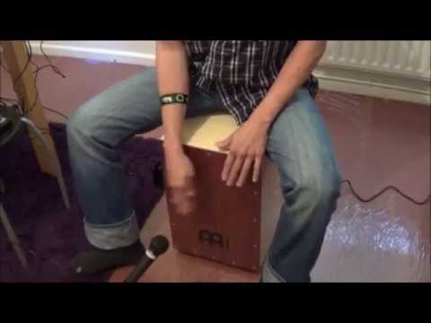 Cover Flowers on the wall Soundtrack ( Pulp Fiction ) Cajon