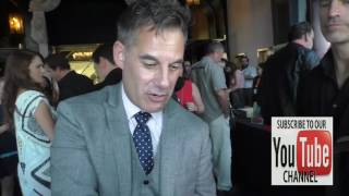 Adrian Pasdar talks about why Superheros wear tights outside Get Lucky For Lupus Poker Tournament at