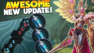 Video NEW Update! New Hero Skills + Items & Much More Mobile Legends download MP3, 3GP, MP4, WEBM, AVI, FLV Desember 2017