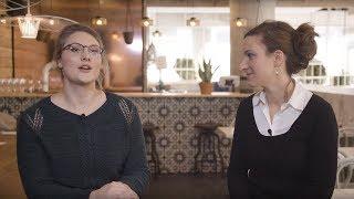 Portraits d'étudiantes à la maîtrise en droit de l'UQAM, Laurianne Ladouceur et Mathilde Valentini