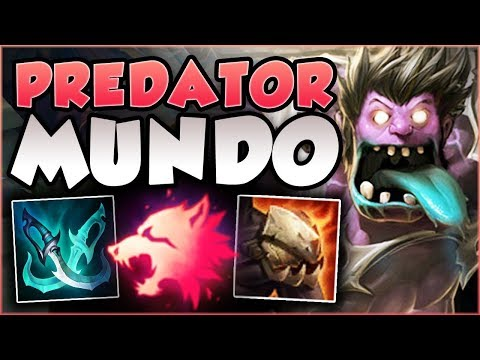 SPEED FORCE MUNDO! THE MOST OP MUNDO BUILD YET?! MUNDO SEASON 8 TOP GAMEPLAY! - League of Legends