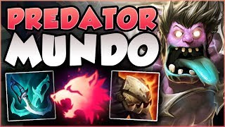 SPEED FORCE MUNDO! THE MOST OP MUNDO BUILD YET?! MUNDO SEASON 8 TOP GAMEPLAY! - League of Legends