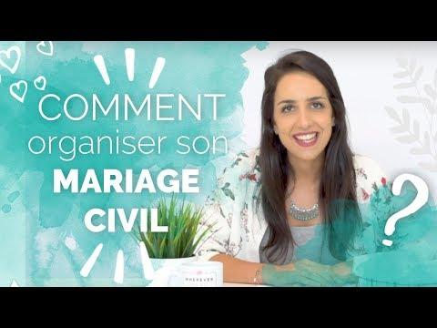 animation mariage civil
