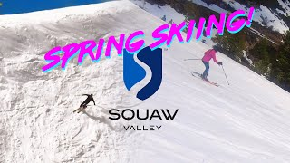Squaw Valley SPRING SKIING - Olympic Valley, Lake Tahoe, CA - June 1-2, 2019