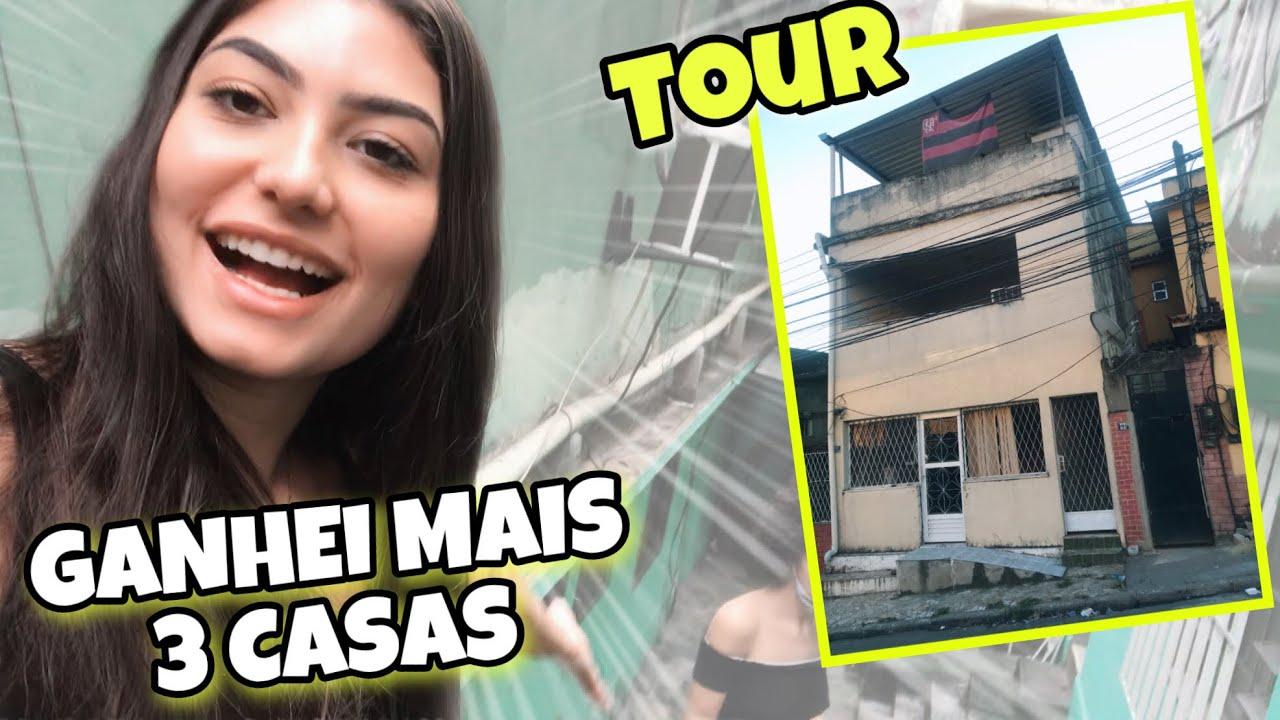 TOUR PELAS MINHAS NOVAS CASAS - AINDA N SEI COMO N FALI