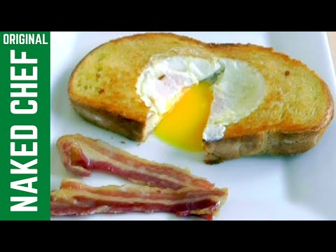 How to Make EGG in BREAD Simple Quick Breakfast recipe